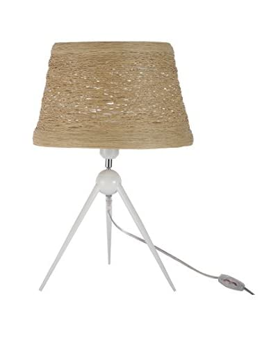 International Designs Orion Table Lamp, Wheat