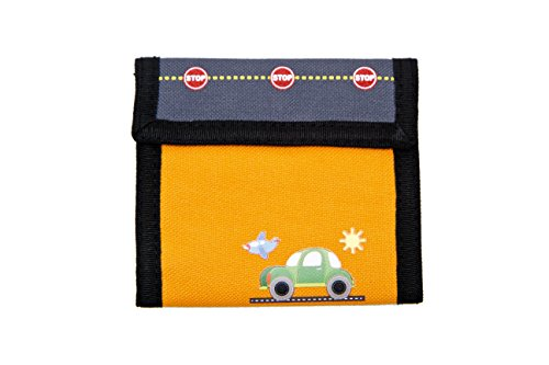 Aquarella Kids Transportation Wallet, Orange - 1