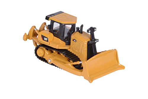 Toy State Caterpillar Metal Machines D7E Bulldozer Diecast Vehicle (Styles May Vary)