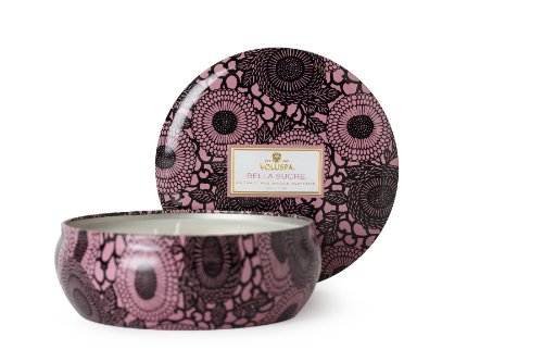 Voluspa Bella Sucre - 3 Wick Candle in Decorative Tin