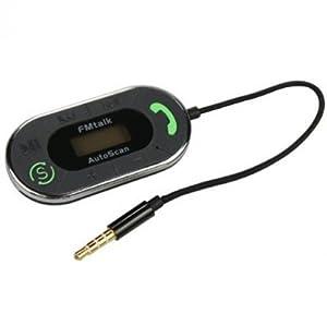 Fonus Multi-Channel Hands Free Talk Autoscan Car Radio Fm Transmitter for Tracfone Alcatel A382G, Huawei Ascend Y, LG 530G, LG 800G