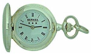 Bernex BN31501 - Reloj de mujer de cuarzo (suizo), correa de piel color negro