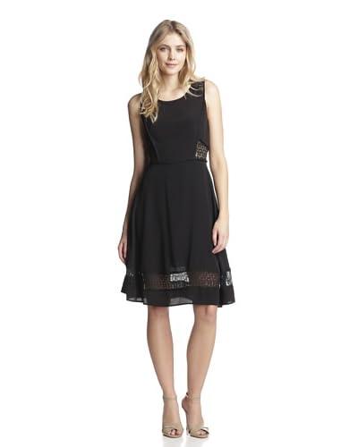 Aijek Women's Rebirth Lace Panel Dress