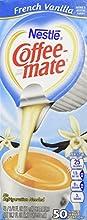 Coffee-Mate RIndividual Nondairy Creamers French Vanilla Box Of 50