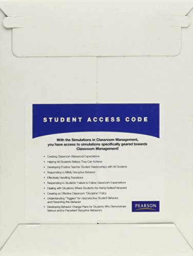 Simulations in Classroom Management -- Access Card
