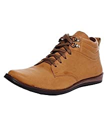 Freedom daisy Men F.D 1003 Tan Ankle Length Shoes
