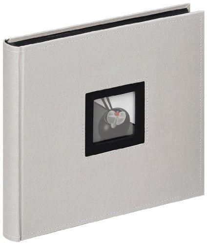 Walther, Black & White, Album Fotografico, Fa-209-D, 26x25 cm, 50 Pagine Bianche, Grigio