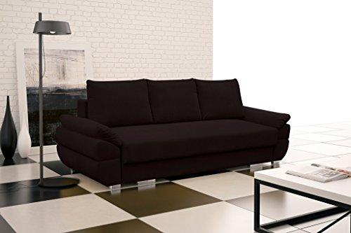 Ikea Kramfors Hoekbank.Deals For Benita Sofa Bed Brand New Modern Design Dark Brown