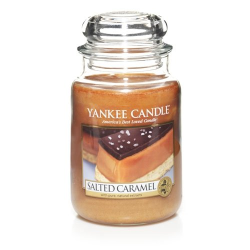 Yankee Candle Salted Caramel 22oz Large Jar - NEW For 2013!