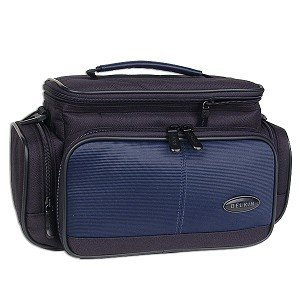 Belkin F8K004-LRG-NVB Deluxe Nylon Camcorder Case (Black/Blue) from Belkin Components