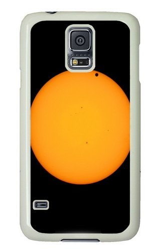 Samsung Galaxy S5 Case And Cover - Venus And Sun Telescope Pc Hard Case Cover For Samsung Galaxy S5 White