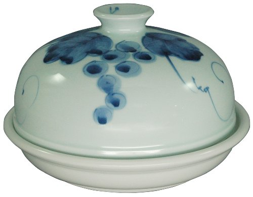"Tagine Arita-yaki Dome style from Japan 20cm(7.9_Inch) ""Kajitsumon"" Range use"