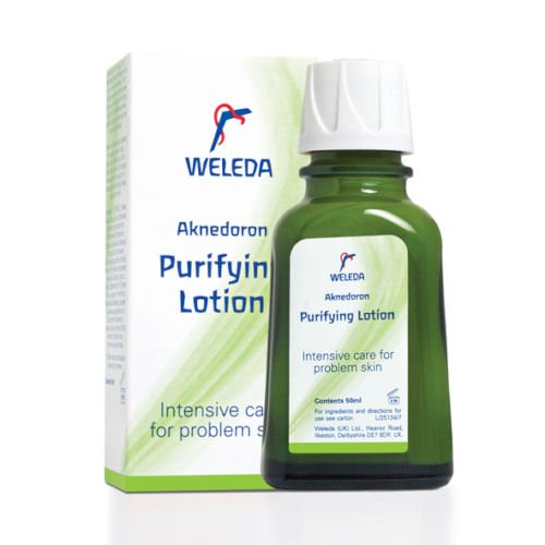 Weleda Aknedoron Purifying Lotion for Problem Skin 50ml