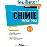 Chimie MPSI-PTSI - Cours, synthèse & exercices corrigés