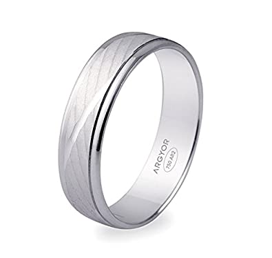 Maïa www.diamants-perles.com-Marriage-Wedding-750/100018Carat White Gold-5mm Width
