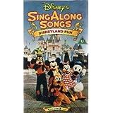 Singalong Songs-Disneyland [VHS]
