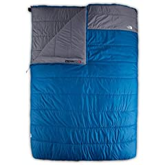 Buy The North Face Dolomite Double 20 -7 Sleeping Bag - Right Hand Zip - Striker Blue Zinc Grey Long by The North Face