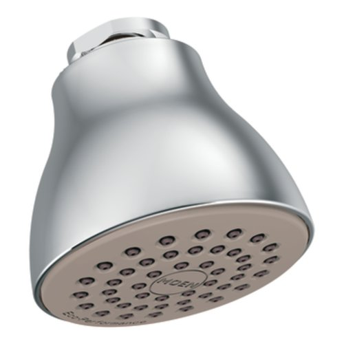 Moen 6300EP One-Function Eco-Performance Shower Head, Chrome (Moen Shower Head Brass compare prices)