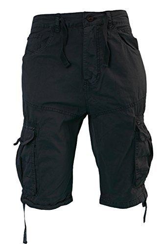 uomo-crosshatch-oprah-saia-con-bottoni-pantaloncini-militari-lunghezza-al-ginocchio-pantaloni-milita