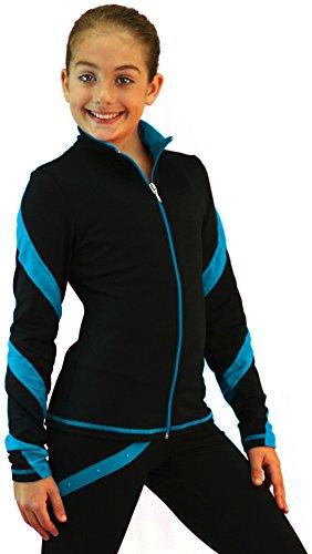 chloe-noel-j36-black-black-turquoise-spiral-skating-jacket-age-10-12