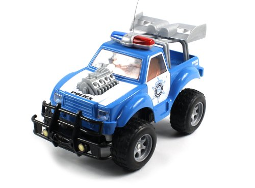 ULTIMATE Electric Full Function 1:18 Hot Police Monster Patrol RTR RC Truck GOES FAST