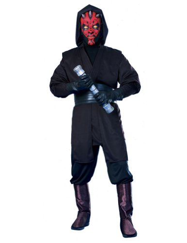 Darth Maul Deluxe Adult Costume Std Adult Mens Costume