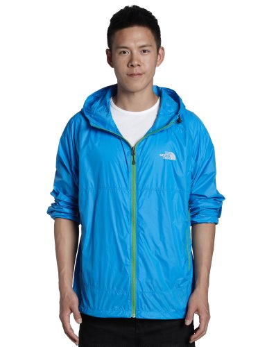 The North Face Mens Flyweight Hoodie - Athens Blue Large