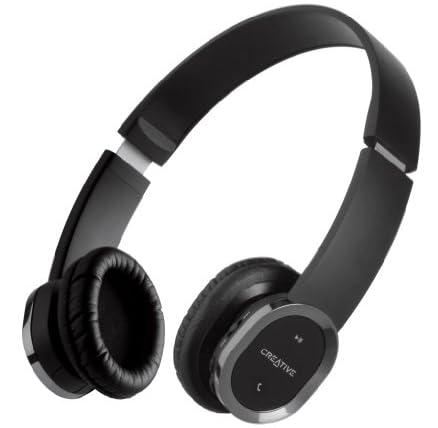 Creative WP-450 iPhone、iPad、Android搭載スマートフォン対応 マイク搭載 Bluetooth apt-X FastStream SBC ワイヤレスヘッドホン HS-WP450