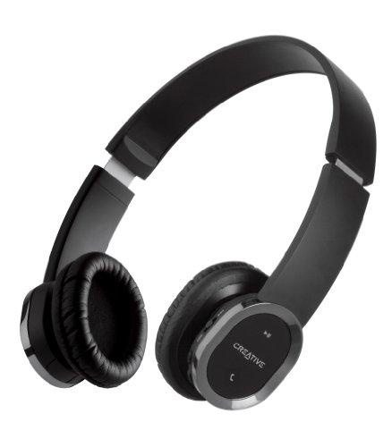 创新Creative Pure Wireless系列旗舰 WP-450 无线蓝牙耳机(可折叠/支持A2DP/降噪/隐形麦克风)图片