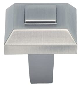 Atlas Homewares 283-P 1-Inch Trocadero Small Knob, Pewter