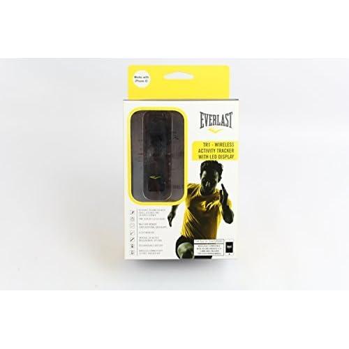 時計 Everlast TR1 Black Wireless Sleep/ Fitness Activity Tracker Watch with LED Display メンズ 男性用 [並行輸入品]