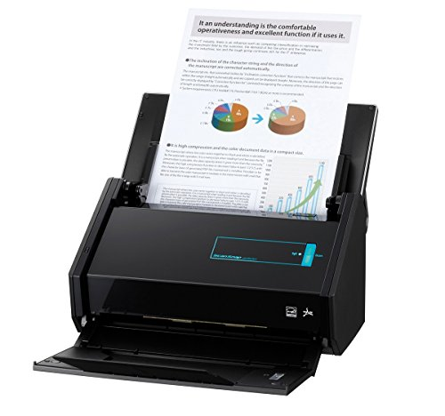 Fujitsu ScanSnap iX500 Dokumentenscanner inkl. Corel WINZIP 20.5 PRO (600dpi, WLAN, USB 3.0, Abbyy PDF Finereader MAC / WIN) ohne Acrobat