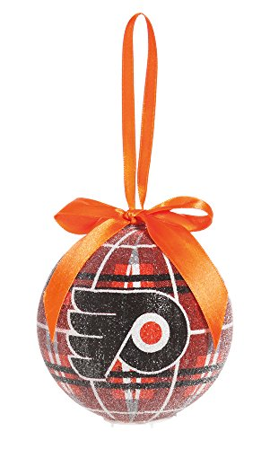100Mm Led Ball Ornament, Philadelphia Flyers