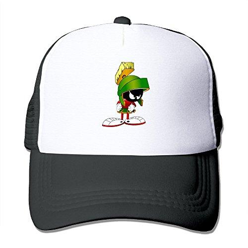 linna-martian-comic-cartoon-character-cotton-hats-walk-cap-for-outdoor-sports-black