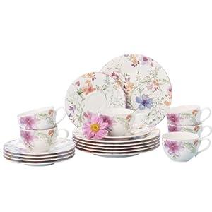villeroy boch 10 4100 7126 service caf mariefleur basic en porcelaine 18 pi ces. Black Bedroom Furniture Sets. Home Design Ideas