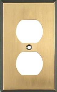 ANTIQUE BRASS Switchplates Outlet Covers, Rocker, GFCI Duplex