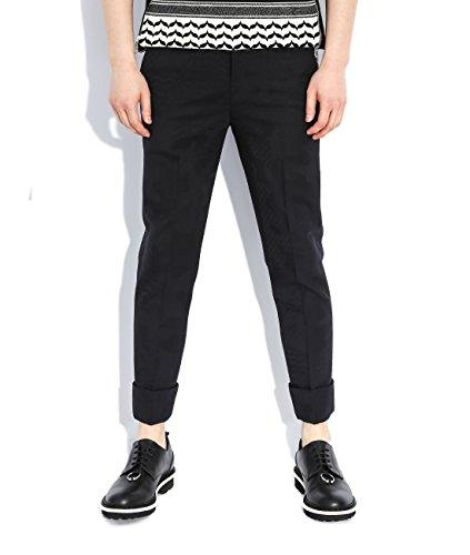 wiberlux-neil-barrett-mens-camo-patterned-cuffed-pants-46-navy
