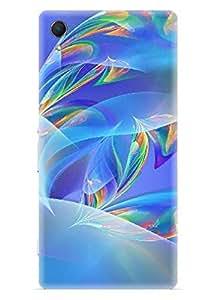 Spygen Premium Quality Designer Printed 3D Lightweight Slim Matte Finish Hard Case Back Cover For Sony Xperia Z2