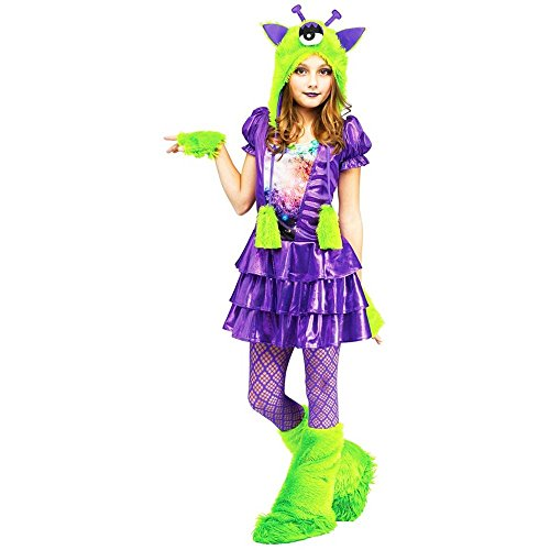 Galaxy Girl Alien Kids Costume