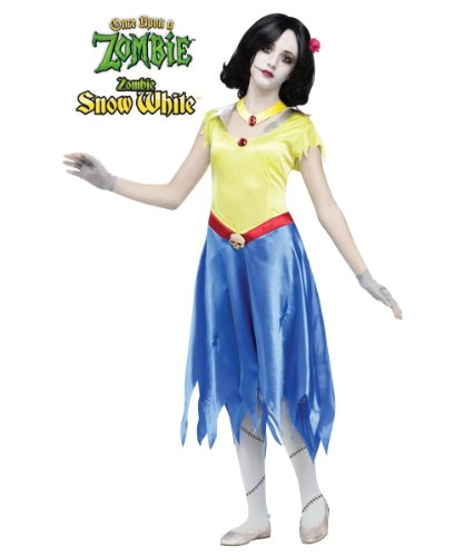 Once Upon a Zombie Snow White Girls Costume/ Zombie Snow White Teen Costume