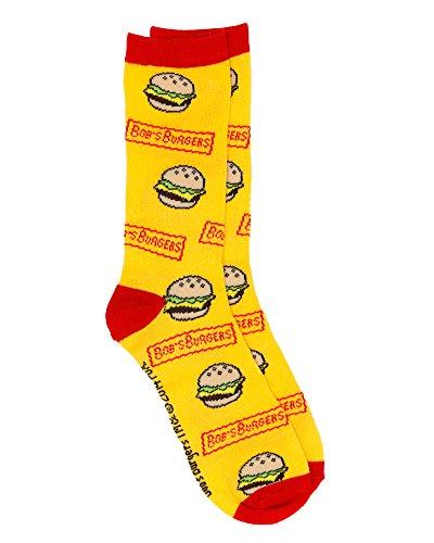 bobs-burgers-burger-socks-multi-osfm
