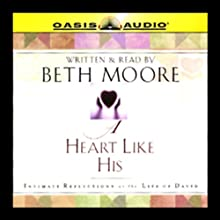 A Heart Like His: Intimate Reflections on the Life of David (       ABRIDGED) by Beth Moore Narrated by Beth Moore