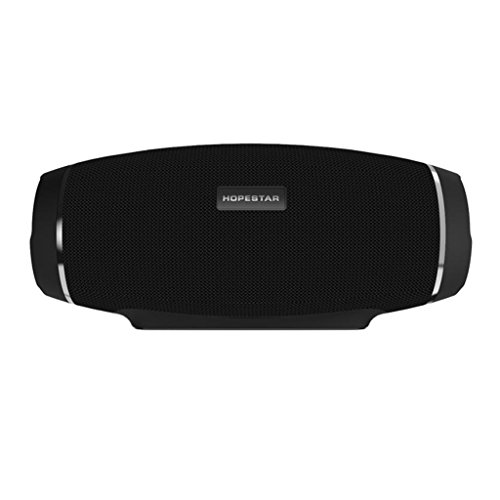 MonkeyJack HOPESTAR H27 Mini Outdoor Bluetooth Speaker Portable Wireless Handfree and Power Bank Speaker MP3 Payer Support 3D Stereo Bass Sound Box Black
