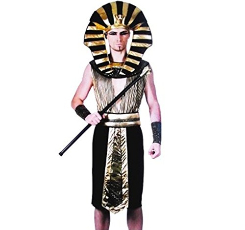 Sixkiss Men's Egyptian Pharaoh Costume
