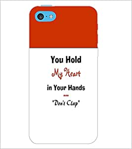 PrintDhaba Quote D-5968 Back Case Cover for APPLE IPHONE 5C (Multi-Coloured)