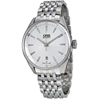 Oris Artix Automatic Silver Dial Stainless Steel Mens Watch