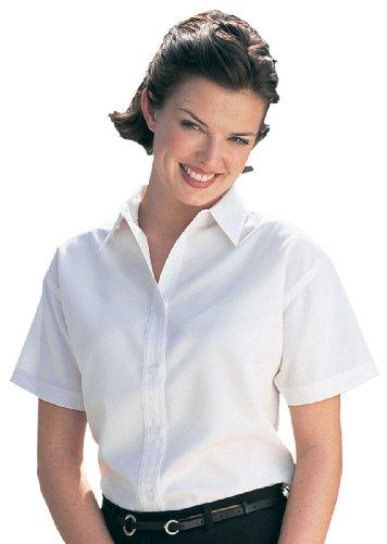 Tri mountain women 39 s wrinkle resistant dress shirt ivory for Wrinkle resistant dress shirts
