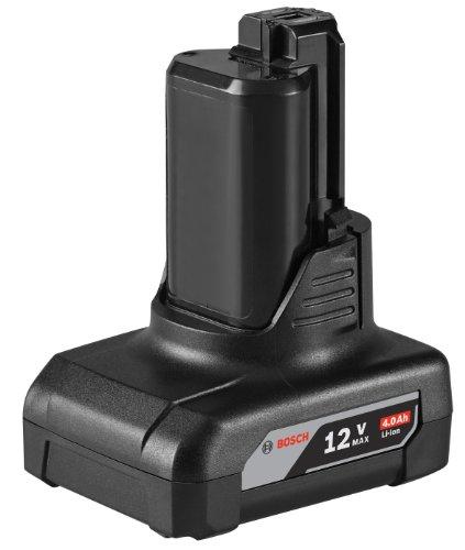 Bosch BAT420 12-Volt Max 4.0Ah High Capacity Battery (Bosch Battery 12v compare prices)