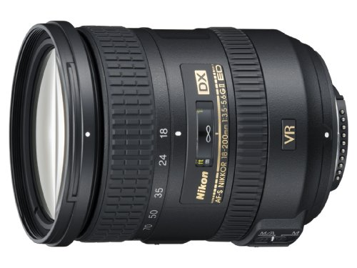 Nikon 18 - 200 mm / F 3,5 - 5,6 G DX ED VR II 18 mm-Lens