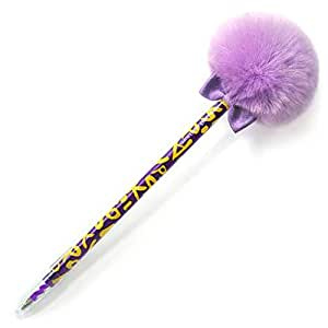 "Fluffy Stylish Sakox Grafiti Sindbad 7.8"" Purple : Office Products"
